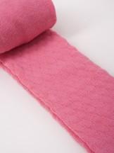 Rajstopy bawełniane żakardowe dziecięce różowe