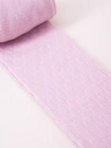 Rajstopy bawełniane żakardowe dziecięce liliowe