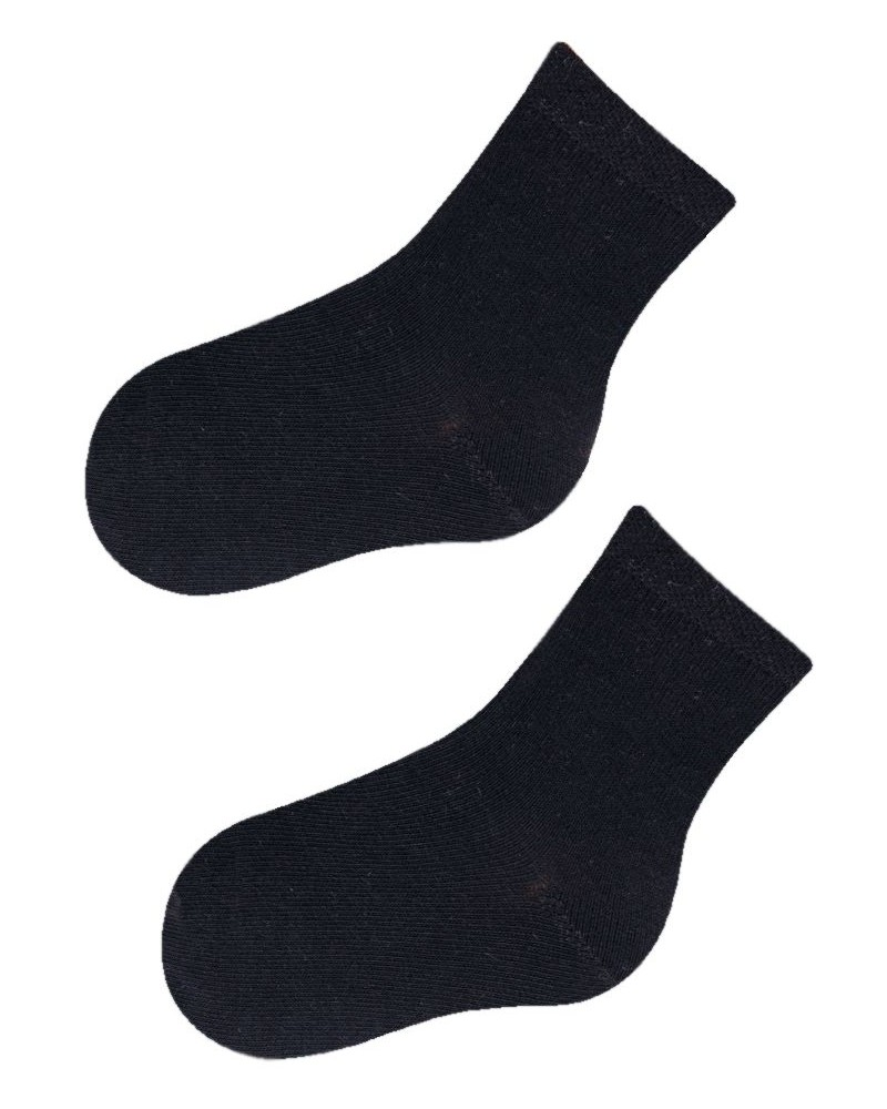 Skarpety gładkie czarne