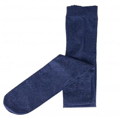 Rajstopy z microfibry 60 DEN melanżowe jeansowe