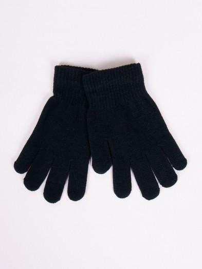 Rękawiczki dziane czarne