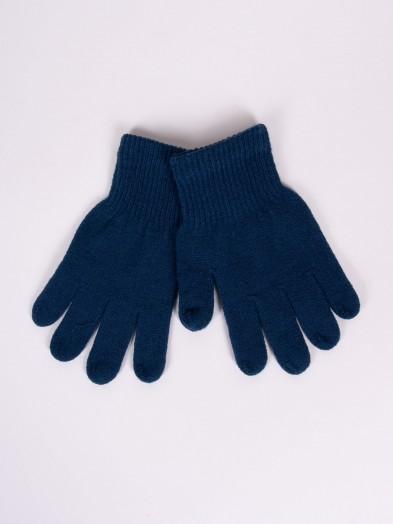 Rękawiczki dziane ciemnoniebieskie