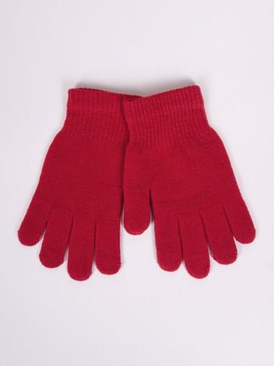 Rękawiczki dziane czerwone