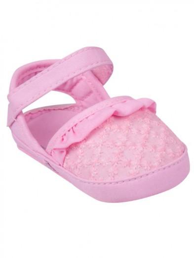 Buciki sandałki różowe