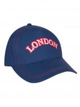 Czapka z daszkiem granatowa London