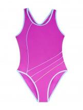 Kostium kąpielowy jednoczęściowy różowy
