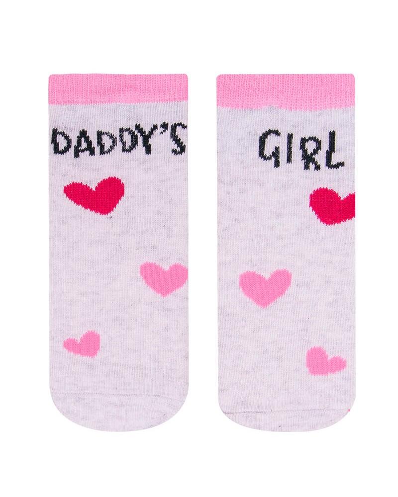 Skarpety z napisem Daddys girl