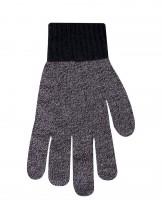 Rękawiczki męskie jednolite melanżowe