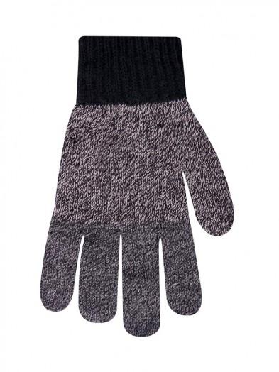 Rękawiczki męskie niejednolite melanżowe