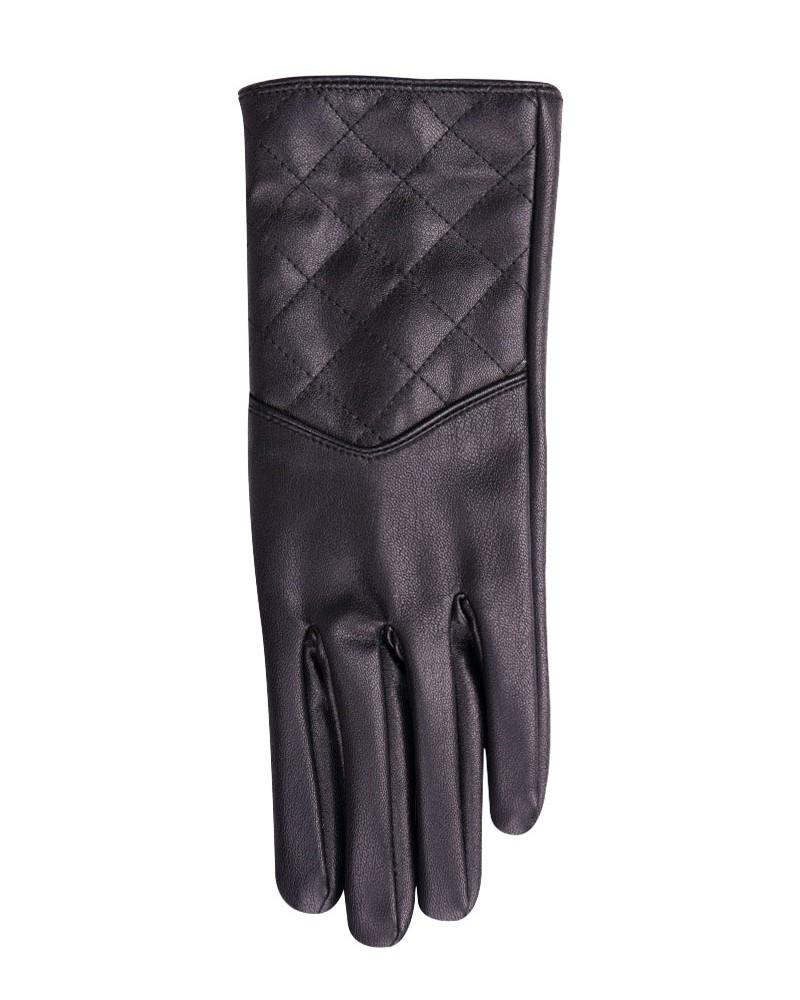 Rękawiczki damskie eko skóry