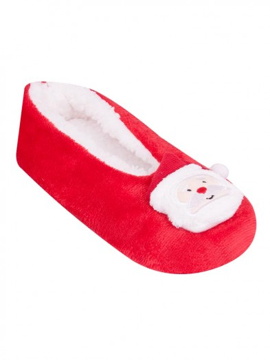 Baleriny czerwone z Mikołajem