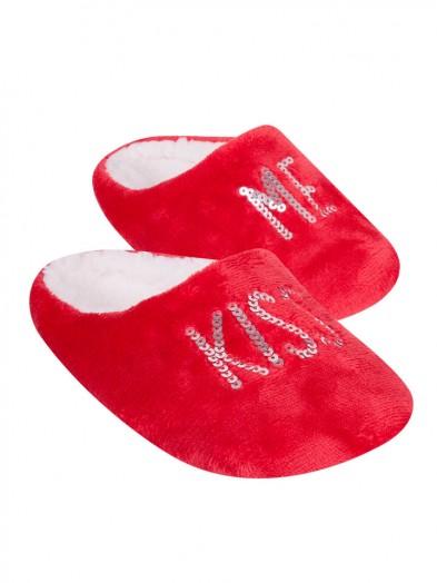 Klapki czerwone Kiss Me