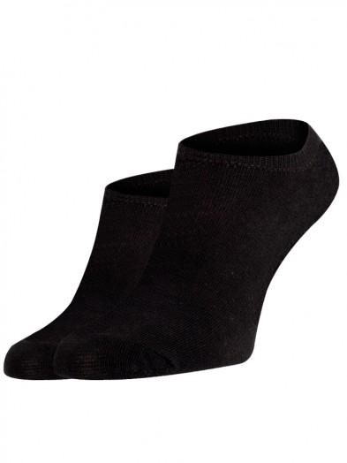 Skarpety stopki krótkie czarne