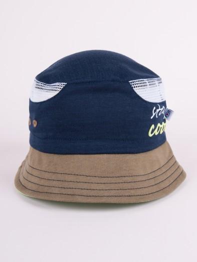 Czapka letnia kapelusz granatowa z siateczką stay cool