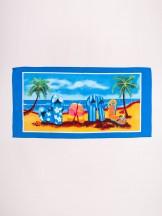 Ręcznik plażowy prostokątny klapki