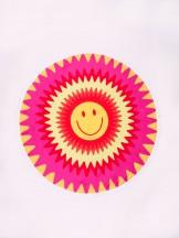 Ręcznik plażowy okragły uśmiech