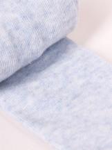 Rajstopy dziewczęce bawełniane gładkie błękit melanż