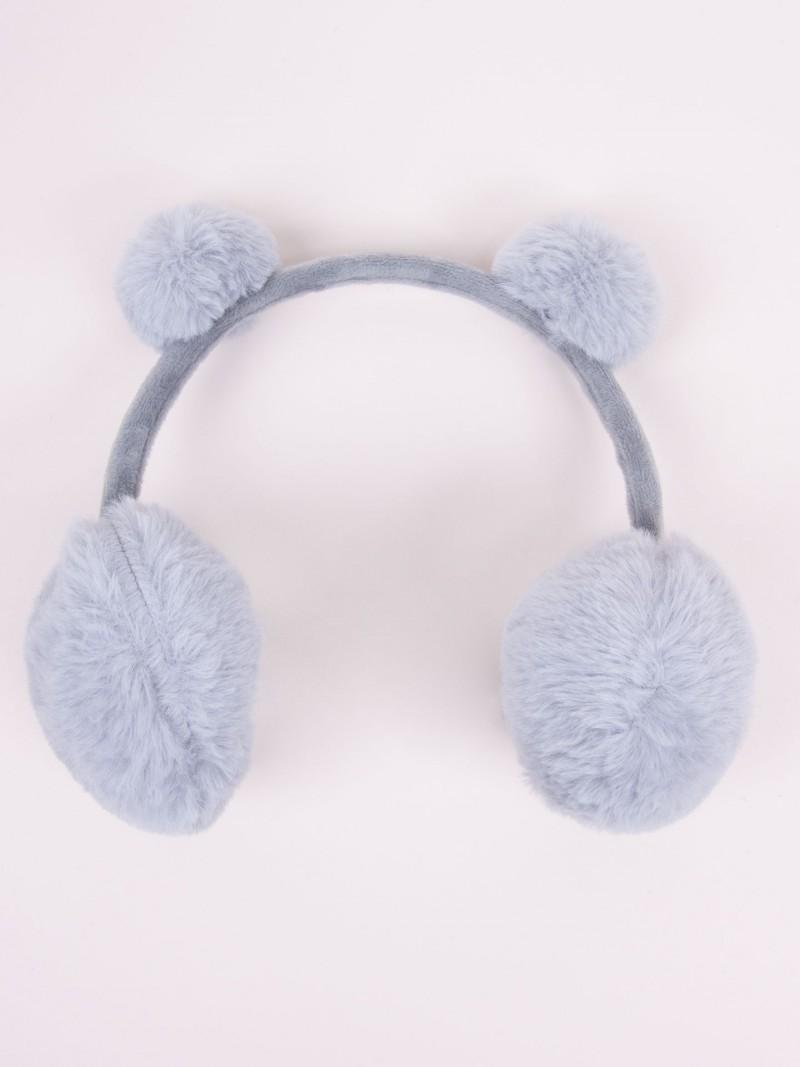Nauszniki z uszami szare