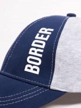 Czapka z daszkiem bejsbolówka dziecięca Border