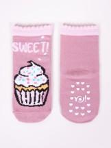 Skarpety dziewczęce ABS 3PAK słodkie ciasteczka