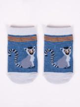 Skarpety chłopięce niemowlęce bawełniane 6PAK w zwierzątka