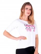 Podkoszulka t-shirt damski love90's biały
