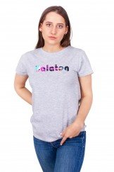 Podkoszulka t-shirt damski balaton szary