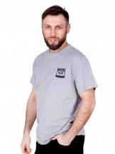 Podkoszulka t-shirt męski szara kaseta