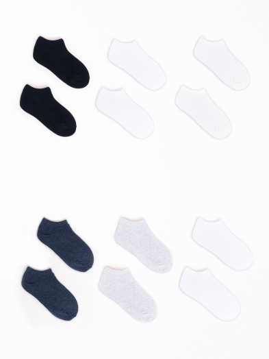 Skarpety stopki bawełniane basic every day 6PAK