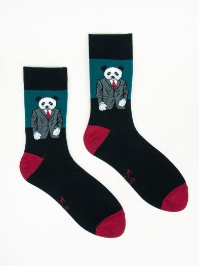 Skarpety Spoksy Panda w garniturze