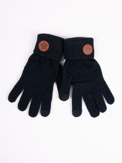 Rękawiczki damskie czarne dotykowe