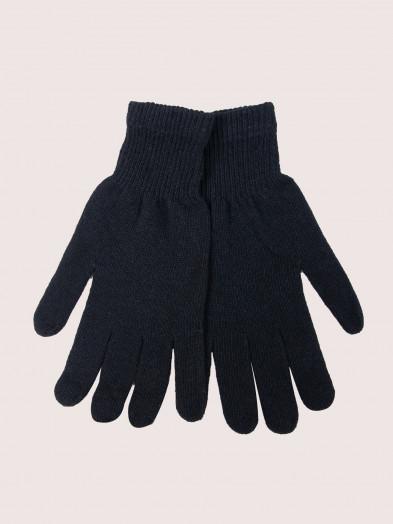 Rękawiczki męskie akrylowe czarne
